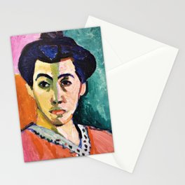Portrait of Madame Matisse, The green line - Digital Remastered Edition Stationery Cards
