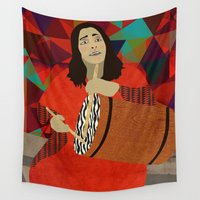 mercedes Wall Tapestries featuring Folklore by Design4u Studio