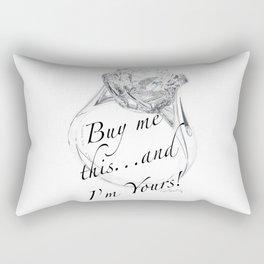 Buy Me This Rectangular Pillow