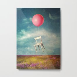 Lifted Metal Print