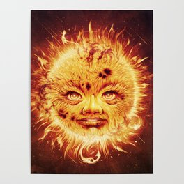 The Sun (Young Star) Poster