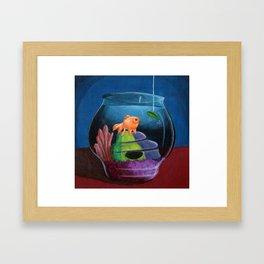 Fish Series 2 Framed Art Print