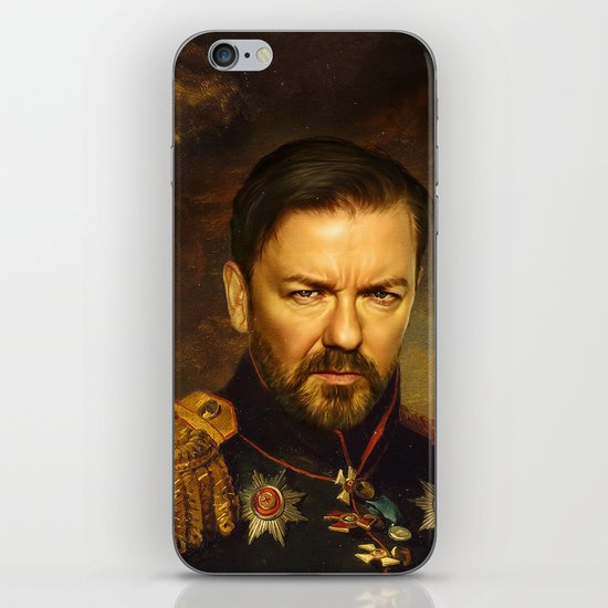 Ricky Gervais - replaceface iPhone & iPod Skin