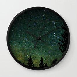 Wednesday Night Wall Clock