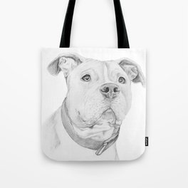 A Pit Bull :: Misunderstood Tote Bag