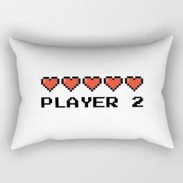 PLAYER 2 Rectangular Pillow