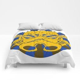 Psychedelic Trooper Comforters