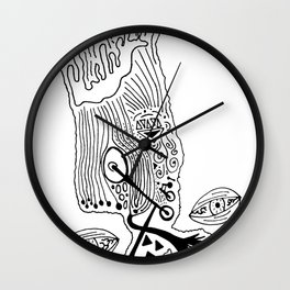 Art School Wall Clock