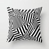 vertigo Throw Pillows featuring Vertigo by Y A Y