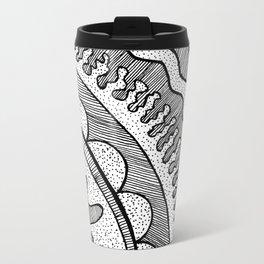 Lines & Dots Travel Mug