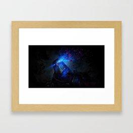Jhin Promo Teaser Zed Framed Art Print