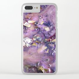 Galaxy Beach (Detail Two) Clear iPhone Case