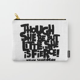 LITTLE FIERCE - WILLSHAKESPEARE Carry-All Pouch