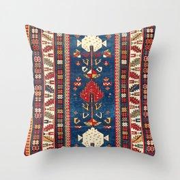 Shirvan East Caucasus Rug Print Throw Pillow