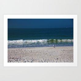 The Sandpiper and the Sea Art Print