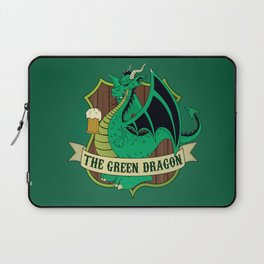 The Green Dragon Pub Laptop Sleeve