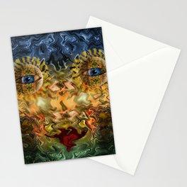 temporary beauty Stationery Cards