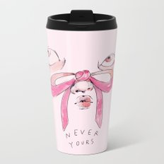 Never Yours Bows Metal Travel Mug