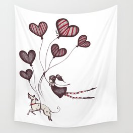 Spreading Love pt.2 Wall Tapestry