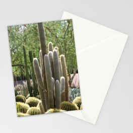 Cactus Garden at Sunnyland Estates in Rancho Mirage Stationery Cards