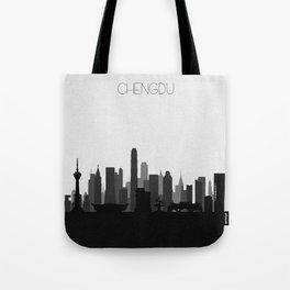 City Skylines: Chengdu Tote Bag
