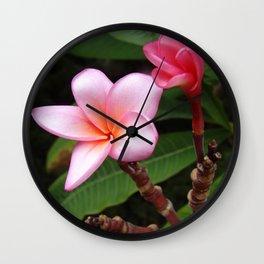 Flowers from Haifa Wall Clock