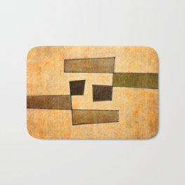 Protoglifo 03 'brown dance' Bath Mat