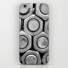 STUDS (b&w) iPhone & iPod Skin