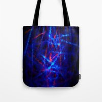 northern lights Tote Bags featuring Northern Lights by Cs025