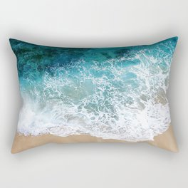 Ocean Waves I Rectangular Pillow