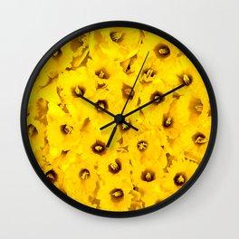 Daffodils pattern Wall Clock