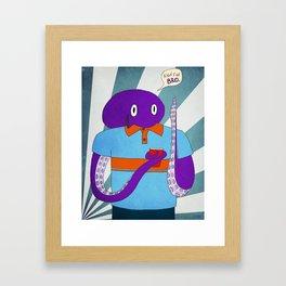 Bro Framed Art Print