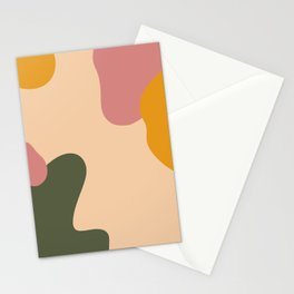 Modern Abstract Art Pattern Stationery Cards