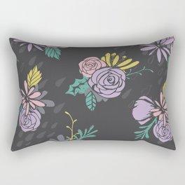 Flora Over Fauna Rectangular Pillow