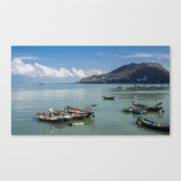 Peaceful Life By The Sea Canvas Print