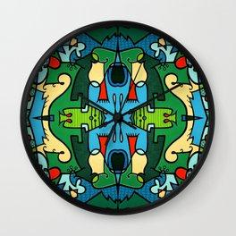 Vert A Go-Go 2 Wall Clock