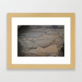 Layers and layers Framed Art Print