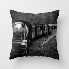 Spooky Train Throw Pillow