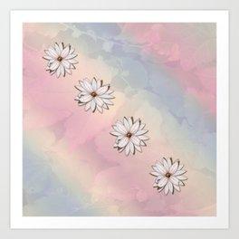lily-white Art Print