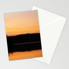 Sunrise at Natchez Trace Park in Tennessee Stationery Cards