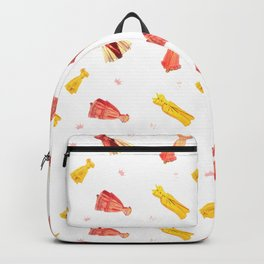 Paper Doll Pattern Backpack