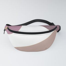 Abstract pink tones design Fanny Pack
