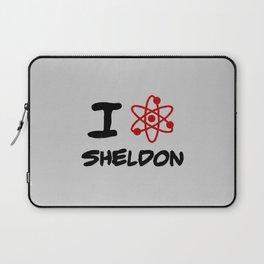 I love Sheldon Laptop Sleeve