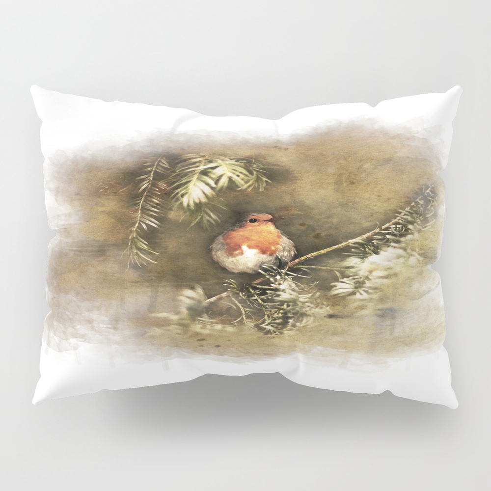 Robin The Redbreast Pillow Sham by Weltenraser (PSH8489565) photo