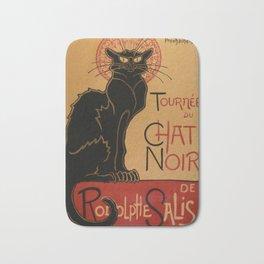 Le Chat Noir - Théophile Steinlen Bath Mat