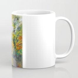 Autumn Woodland Path Coffee Mug