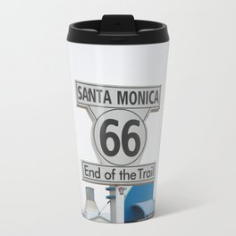 The End of route 66 Travel Mug