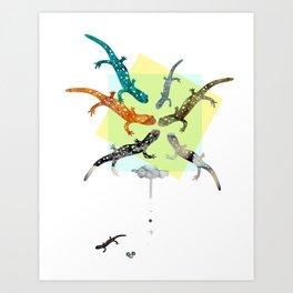 FORMOSA SERIES【Salamanders】 Art Print