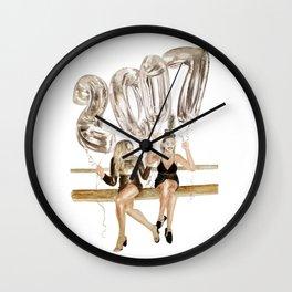 NYE 2017 Wall Clock