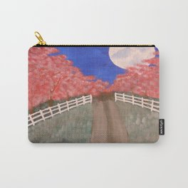 Cherry Blossom Pathway Carry-All Pouch